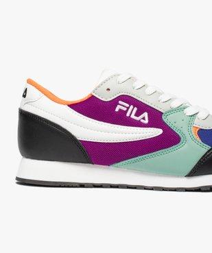Baskets femme multicolores – Fila Orbit Low vue6 - FILA - GEMO