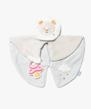 Doudou plat bébé avec tête de lion – Sucre d'Orge vue1 - SUCRE D'ORGE - GEMO