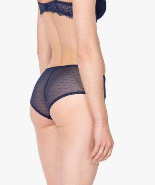 Shorty femme en dentelle et tulle (lot de 2) vue2 - GEMO(HOMWR FEM) - GEMO