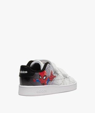 Baskets garçon à scratch – Adidas Advantage Spiderman vue4 - ADIDAS - GEMO