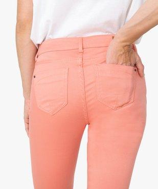 Pantalon femme coupe slim - Longueur L26 vue5 - GEMO(FEMME PAP) - GEMO