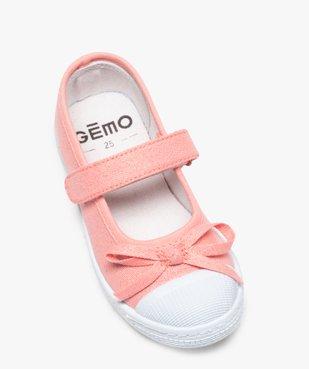 Ballerines fille en toile pailletée et bout renforcé vue5 - GEMO (ENFANT) - GEMO