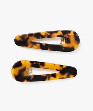 Pince à cheveux femme forme crocodile bicolore (lot de 2) vue1 - Nikesneakers (ACCESS) - Nikesneakers