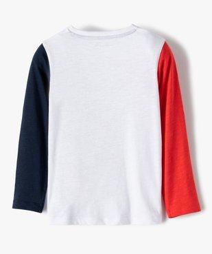 Tee-shirt garçon à manches longues imprimé - Lulu Castagnette vue5 - LULUCASTAGNETTE - GEMO
