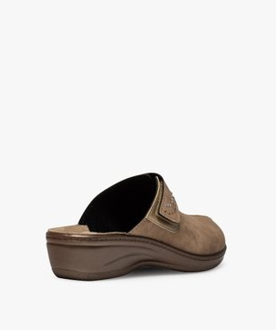 Sabots femme confort dessus ajustable orné de strass vue4 - Nikesneakers (CONFORT) - Nikesneakers