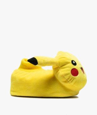 Chaussons garçon en volume - Pikachu vue1 - POKEMON - GEMO