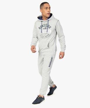 Pantalon de jogging homme en maille imprimée - Roadsign vue5 - ROADSIGN - Nikesneakers