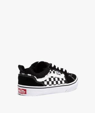Baskets garçon skateshoes à damier - Vans Filmore Checker vue4 - VANS - Nikesneakers