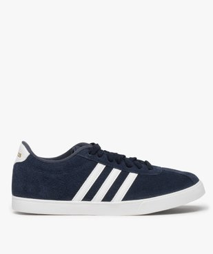 Tennis femme dessus cuir à lacets – Adidas Courtset vue1 - ADIDAS - Nikesneakers