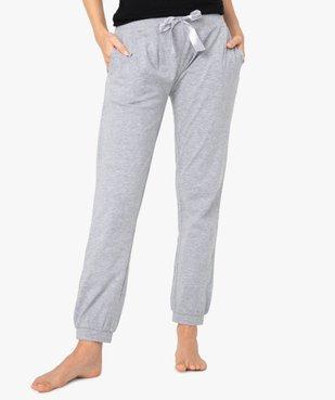 Pantalon de pyjama femme avec bas resserrés vue1 - Nikesneakers(HOMWR FEM) - Nikesneakers
