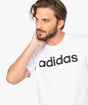 Tee-shirt homme avec inscription contrastante – Adidas vue2 - ADIDAS - GEMO