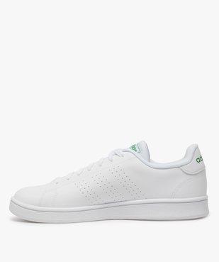 Tennis homme unies à lacets – Adidas Advantage vue3 - ADIDAS - Nikesneakers