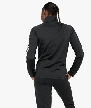 Sweat femme avec fermeture zippée - Adidas vue3 - ADIDAS - GEMO