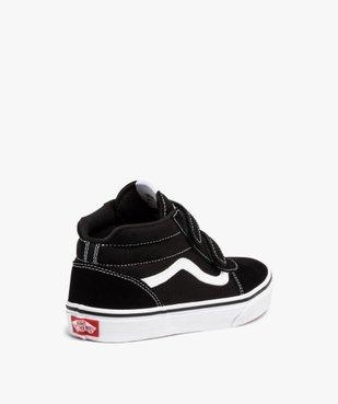 Baskets garçon skateshoes bicolores - Vans Ward Mid vue4 - VANS - Nikesneakers