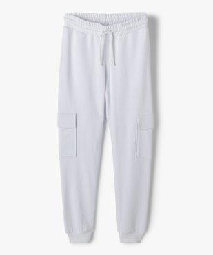 Pantalon de jogging fille esprit cargo vue1 - GEMO (JUNIOR) - GEMO