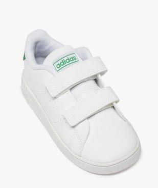 Baskets garçon unies à scratch – Adidas vue5 - ADIDAS - Nikesneakers