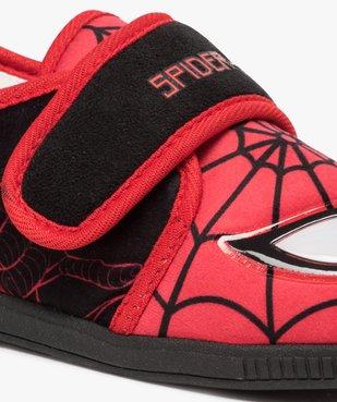 Chaussons garçon bicolores Spiderman à scratch vue6 - SPIDERMAN - GEMO