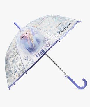 Parapluie fille transparent à motifs - La Reine des Neiges vue1 - REINE DES NEIGE - GEMO