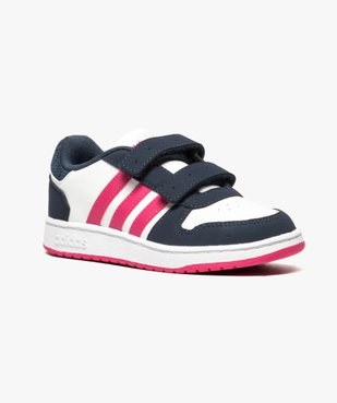 Basket bébé à tige basse tricolore - Adidas vue2 - ADIDAS - GEMO
