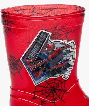 Bottes de pluie crantées Spiderman vue6 - SPIDERMAN - GEMO