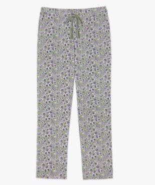 Pantalon de pyjama femme à motifs fleuris vue4 - GEMO(HOMWR FEM) - GEMO