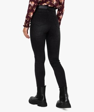 Jean femme en stretch coupe Skinny taille haute vue3 - Nikesneakers(FEMME PAP) - Nikesneakers