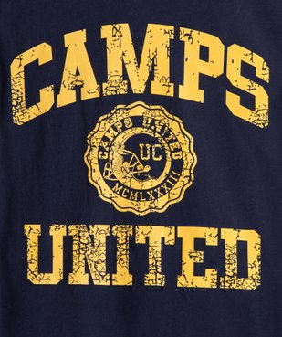 Pyjama garçon bicolore – Camps United vue2 - CAMPS UNITED - GEMO