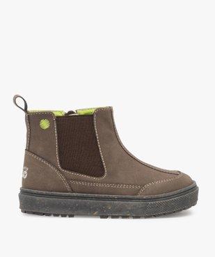 Boots bébé garçon à surpiqûres contrastées – Gepy vue1 - FRIENDLY GEPY - GEMO