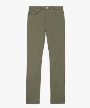Pantalon femme coupe Regular en stretch vue4 - GEMO(FEMME PAP) - GEMO