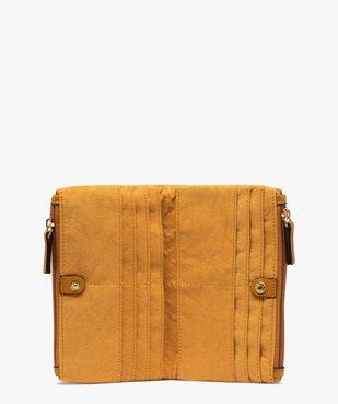 Portefeuille femme multimatière vue3 - GEMO (ACCESS) - GEMO