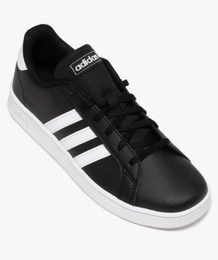 Baskets garçon à lacets – Adidas Grand Court vue5 - ADIDAS - Nikesneakers