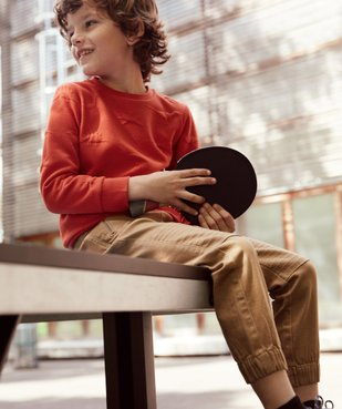 Sweat garçon avec motifs en relief vue6 - GEMO (ENFANT) - GEMO