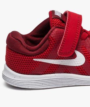 Baskets basses lacets et scratchs Nike Revolution 4 vue6 - NIKE - GEMO