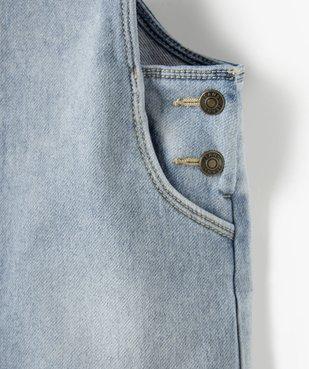 Robe fille en jean coupe salopette vue3 - Nikesneakers (ENFANT) - Nikesneakers