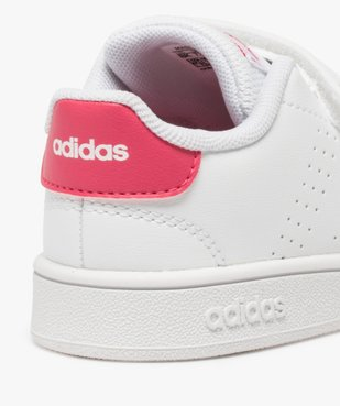 Baskets fille unies à scratch – Adidas vue6 - ADIDAS - Nikesneakers