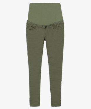 Pantalon de grossesse coupe slim avec bandeau  vue4 - GEMO (MATER) - GEMO