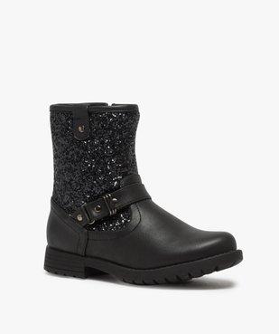 Boots fille à tige pailletée vue2 - Nikesneakers (ENFANT) - Nikesneakers