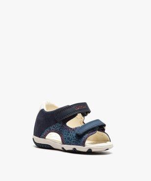 Sandales bébé garçon à scratch, intérieur cuir et - Geox vue2 - GEOX - GEMO