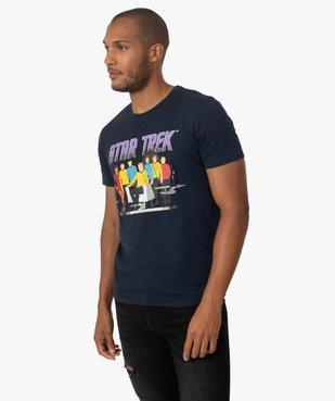 Tee-shirt homme avec motif Star Trek vue1 - STAR TREK - GEMO