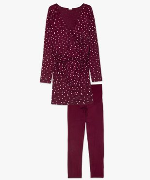 Pyjama de grossesse et d'allaitement imprimé vue4 - Nikesneakers (MATER) - Nikesneakers