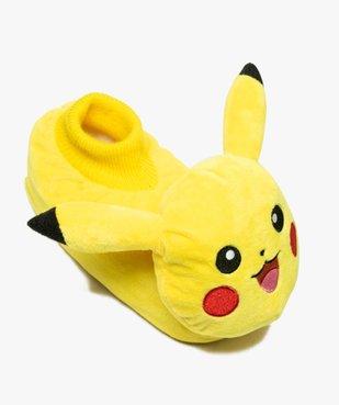 Chaussons garçon en volume - Pikachu vue5 - POKEMON - GEMO