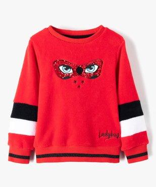 Sweat fille en matière peluche Ladybug - Miraculous vue1 - MIRACULOUS - GEMO