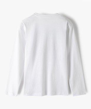 Tee-shirt garçon à manches longues imprimé vue4 - GEMO (JUNIOR) - GEMO