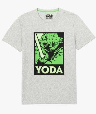 Tee-shirt homme avec motif Maitre Yoda – Star Wars vue4 - STAR WARS - GEMO