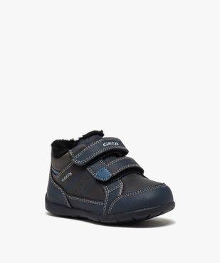 Baskets bébé garçon à scratchs et doublure douce – Geox vue2 - GEOX - GEMO