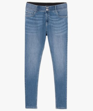 Jean femme slim gainant taille normale  vue4 - GEMO (G TAILLE) - GEMO