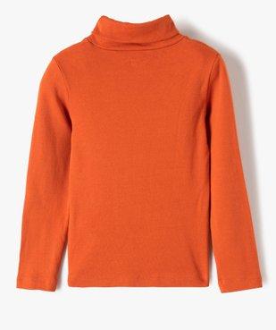Tee-shirt garçon imprimé à manches longues et col montant vue3 - GEMO (ENFANT) - GEMO