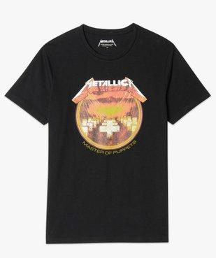 Tee-shirt homme imprimé Metallica vue4 - METALLICA - GEMO