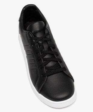 Baskets garçon unies logo – Adidas Grand Court LTS K vue5 - ADIDAS - Nikesneakers