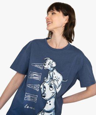 Tee-shirt femme oversize avec motif XXL - Disney vue1 - DISNEY DTR - GEMO
